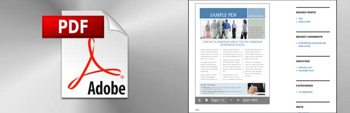 PDF Embedder WordPress Plugin